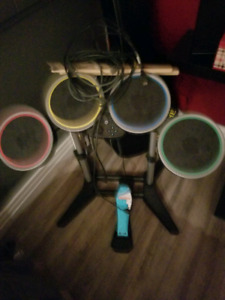 Wii Rock band Gear