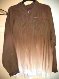 Vintage Fubu zip through shirt