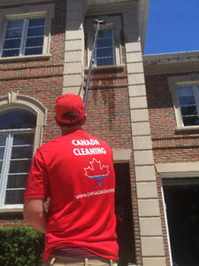 Fully-Insured Window Cleaning in Hamilton
