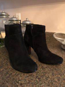 Sam Edelman Black Suede Shoes For Women | Femmes | 6.5 M