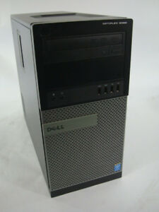 "Dell Optiplex tower 9020 i7, 8GB RAM + 19"" MONITOR"
