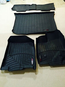 Full weather tech mats for Lincoln MKX