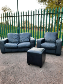 2 seater Sofa + armchair (delivery available