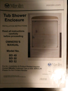 Shower sliding doors new