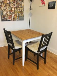 Dinning Table, Ikea - LERHAMN