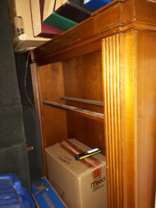 Cherry wood bookcase - Purchased from Art Shoppe