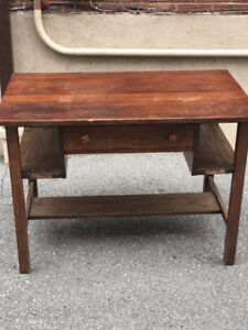 Vintage Solid Wood Buffet Table 36 X 42 X 30 inches high.