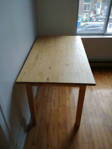 Ikea Wood Dining Table - excellent condition