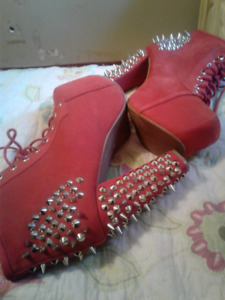 BRAND NEW JEFFREY CAMPBELL BOOTS