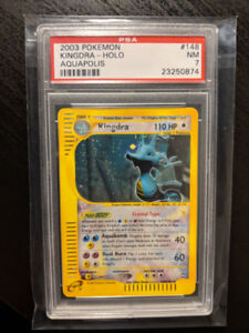 Pokemon PSA Cards (WOTC) Charizard, Crystal, Dragonite, & More