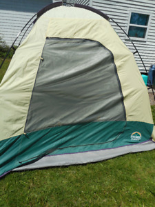 escort tent sleeps 4/5 6 feet high has fly and pegs