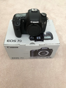Canon 7D brand new (open box, body only)