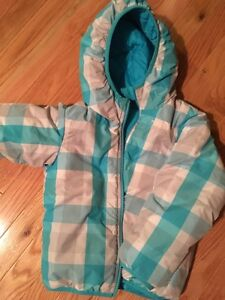 Girls 4T north face puffer jacket