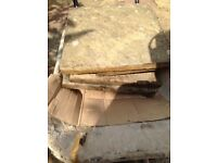 450 X 450 slabs for sale 80 available for £40