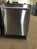 Brand-new Samsung stainless steel dishwashers