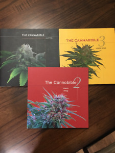 Cannabible Vol 1, 2, and 3 paperback