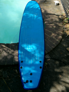 Soft foam mini mal surfboard