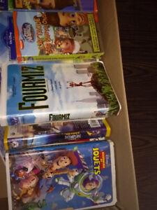 Cassettes de films pour enfants