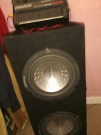 Kenwood speaker set in car gwo