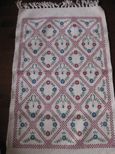 Floral Accent/Scatter Rugs/Mats