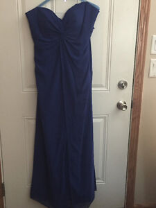 Gown Royal Blue