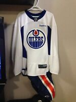 Taylor Hall game worn jersey signed