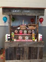 Candy buffet rentals