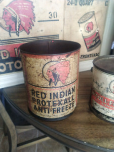 Red Indian Can