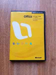 Microsoft Office 2008 (Mac)