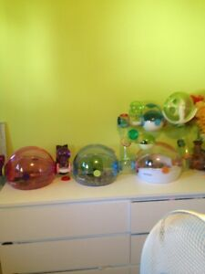 Habitrail collection\hamster cage