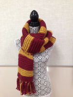 Hogwarts Scarves!   - Hand Knit - Made to Order