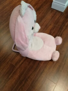 Pink Bunny Fold-able Chair Toy