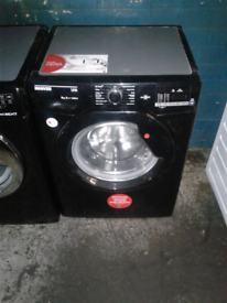 BLACK HOOVER 9KG WASHING MACHINE DIGITAL