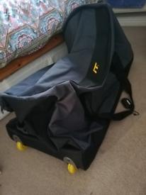 IT wheeled large holdall storage bag case
