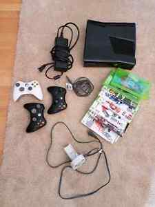 X BOX 360 + games and controllers