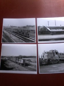 Vintage   railroad  photo,s   8  by 10