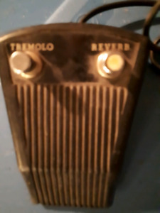vintage foot switch pedal