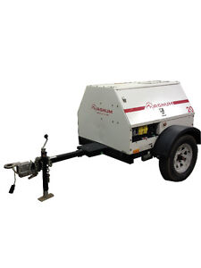 20 KW Generator on trailer