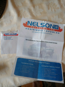 Complete auto detail pack from Nelson GM (Assiniboina & Avonlea)