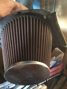 K&N Cold Air Intake off a 2012 3.8L Jeep Wrangler