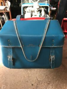 vintage omc snowcruiser leather bag