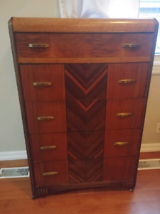 Two Matching Antique Dressers