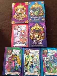 EVER AFTER HIGH 7 BOOKS