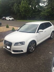 Audi A3 2.0Tdi Sline in Ibis white