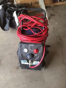 Air compressor and floor buffer for sale!