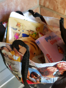 Bag stuffed with kids books $10