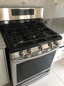 Samsung Gas Range (Stainless Steel) - Brand NEW & Never Used
