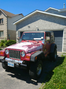 98' jeep tj sport for sale $3000 or sell parts