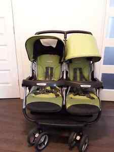 Peg Perego Aria Twin stroller in excellent condition