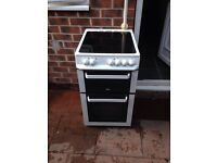 Zanussi double oven electric cooker £90
